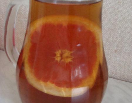 Herbata z grejpfruta