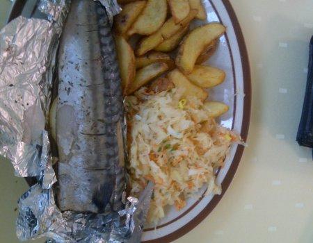 Makrela z ziemniakami