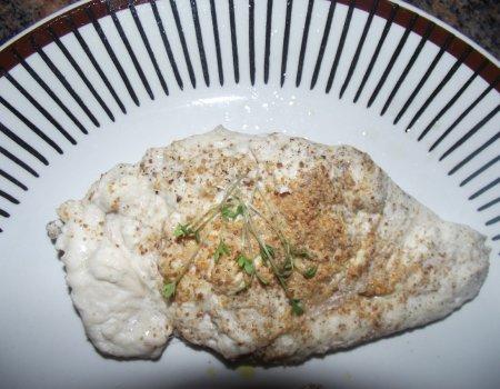 Filet z piersi kurczaka na parze