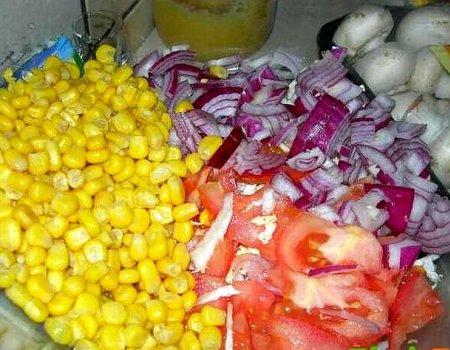 Kolorowa sałatka Oli