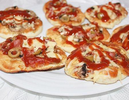 Mini pizza na wodzie