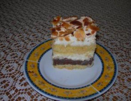 Ciasto czekoladowo - śmietanowe