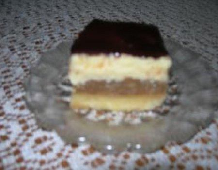 Ciasto serowo - jabłkowe