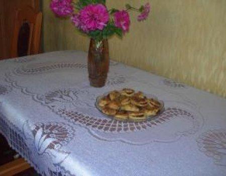 Ciastka półfrancuskie śmietanowe z marmoladą