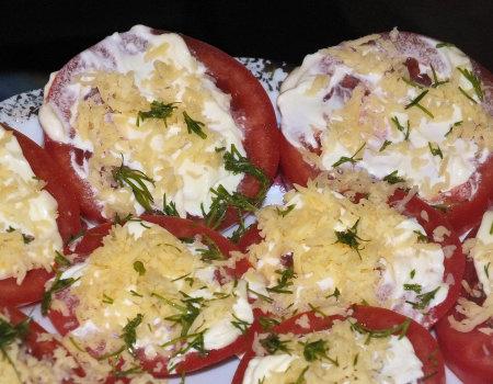 Błyskawiczna przekąska z pomidorów