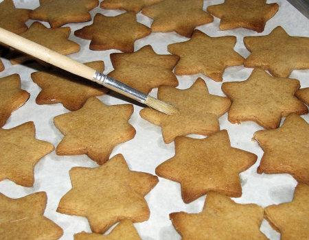 Świąteczne ciasteczka miodowe