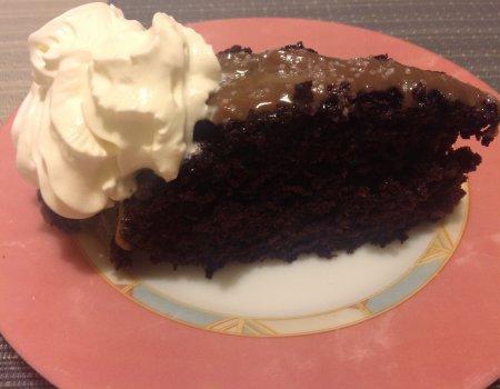 Ciasto czekoladowe bez jajek i masła