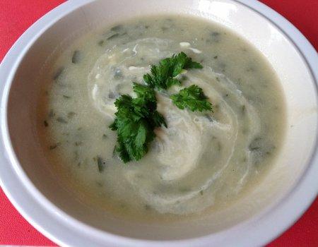 Zupa z lubczyku