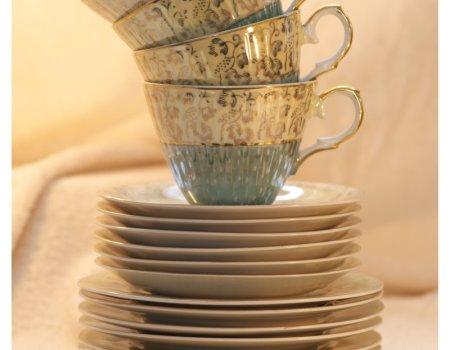 Jak uratować nadpęknięty talerz porcelanowy z kompletu?