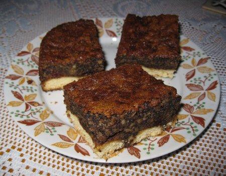 Ciasto z makiem na biszkoptach