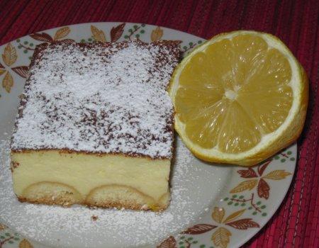 Sernik z nutą cytryny