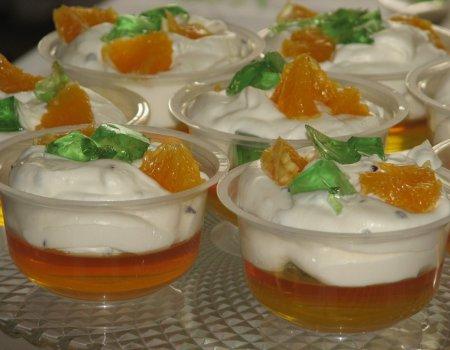 Galaretki w kubkach na słodko