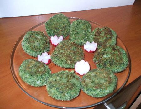 Zielone kotleciki