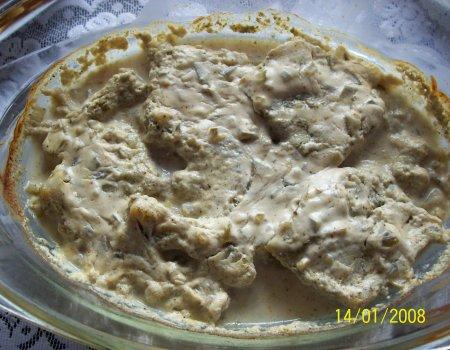 Filety rybne w sosie musztardowym