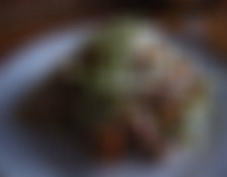 Sałatka z gyros