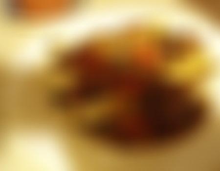 Beef Strogonow z kluskami
