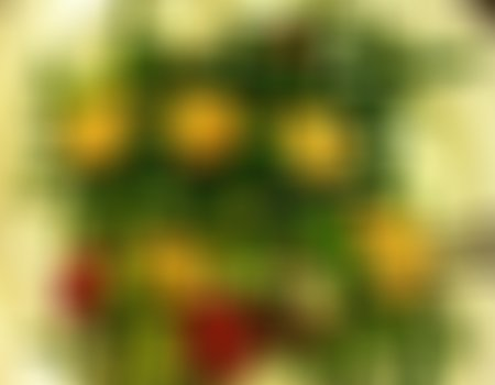 Sałatka z zieloną salatą i kalafiorem
