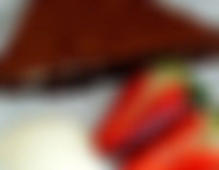 (Prywatny) Brownies z brzoskwinią