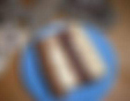 (Prywatny) Sernik mokka z gruszkami