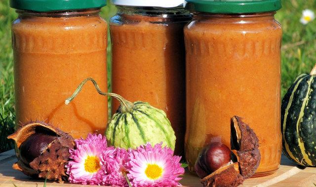 Aromatyczny dżem z jabłek i dyni
