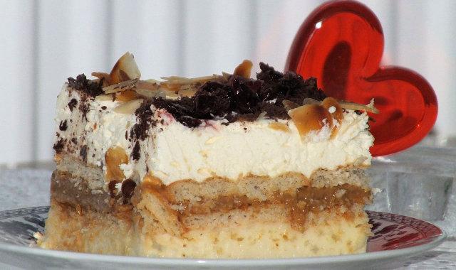 Ciasto 'Kocham Cię' idealne na Walentynki i nie tylko