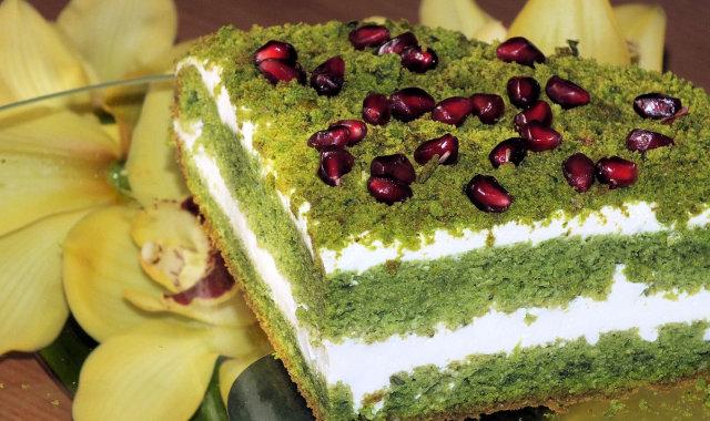 Ciasto mech leśny