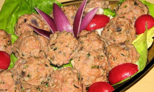 Dietetyczne pulpeciki na kolorowo z parowaru
