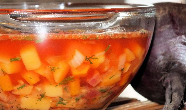 Zupa gotowa do podania