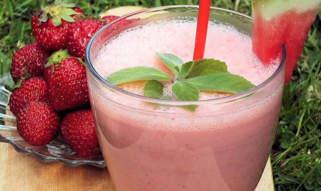 Koktajl arbuzowo-truskawkowy