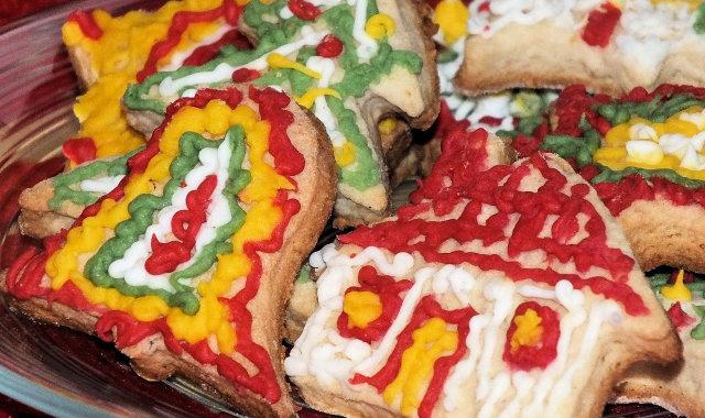 Kruche ciasteczka na Boże Narodzenie