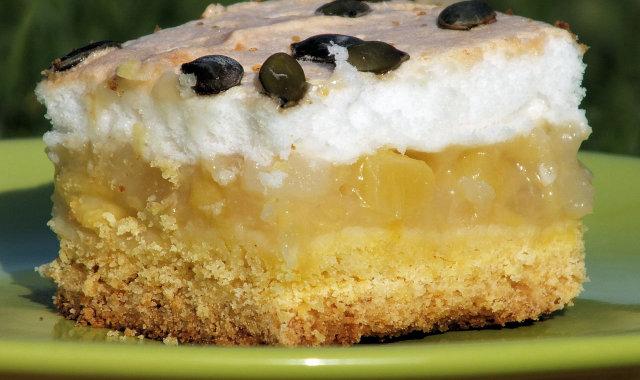 Kruche ciasto z masą dyniowo-gruszkową