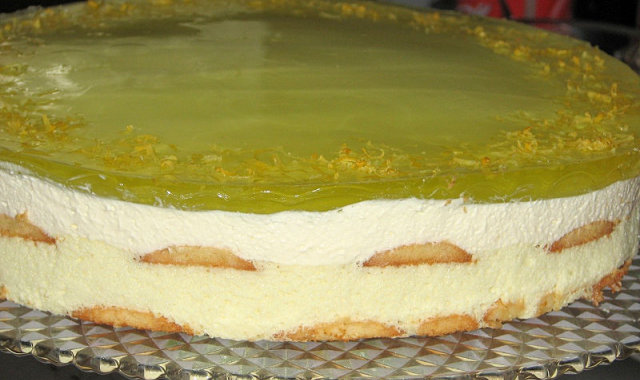 Tort cytrynowy na zimno