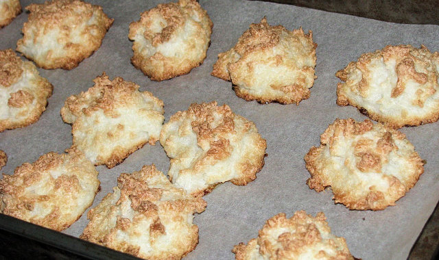Domowe kokosanki z cytrynową nutką