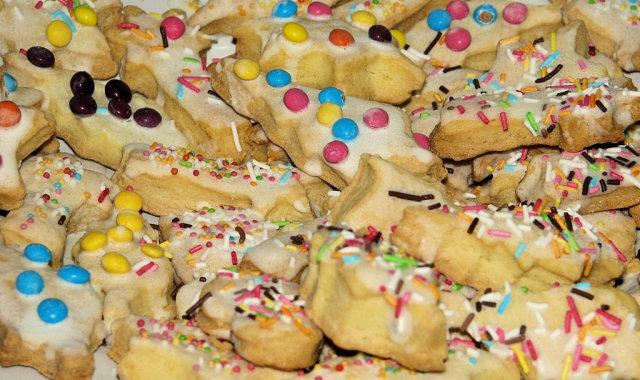 Kruche noworoczne ciasteczka