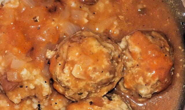 Pulpeciki z szynki w pomidorowym sosie