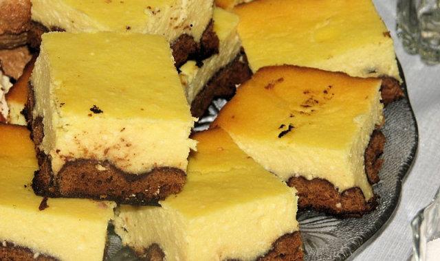 Sernik na piernikach w czekoladzie