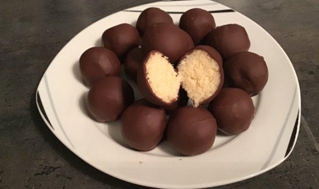 Kuleczki Bounty, kokosowe pralinki