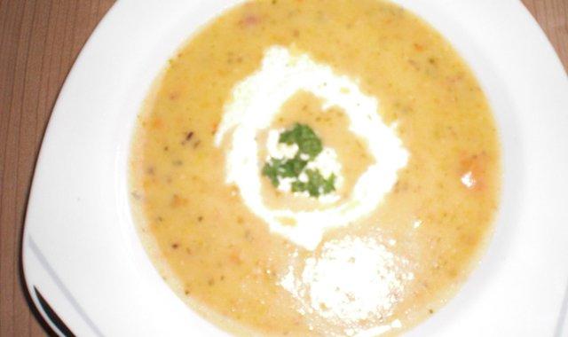 Zupa-krem ziemniaczana