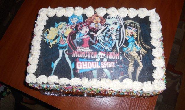 Tort urodzinowy dla mojej córki.