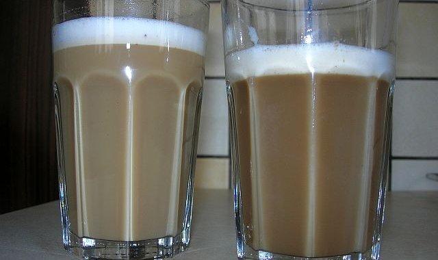 Kawa z pianką dla dzieci