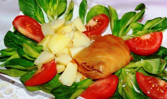 Gołabki w sosie pomidorowym