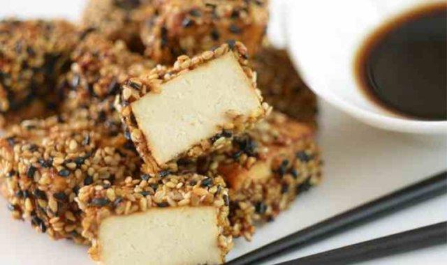 Tofu w sezamowej panierce