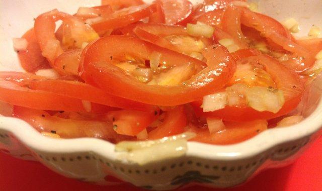 Zwyczajna/niezwyczajna surówka z pomidorow