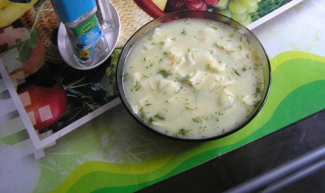 Pyszna zupa koperkowa