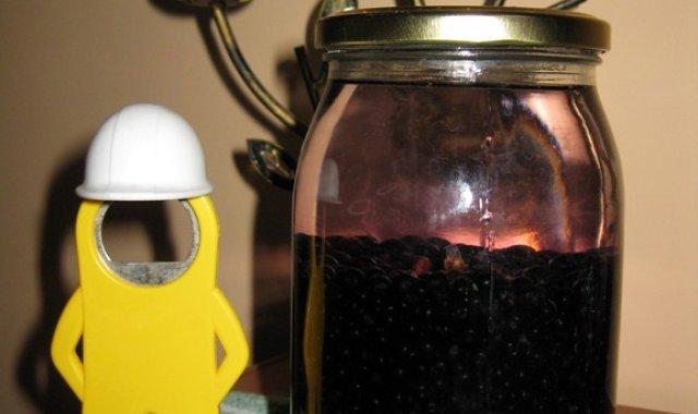 Aromatyczna nalewka z owoców czarnego bzu