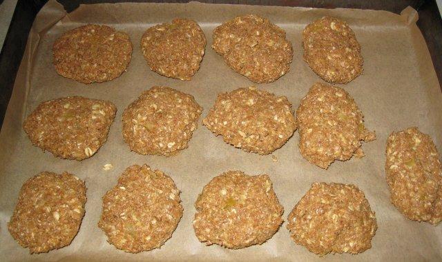 Ciasteczka otrębowo-owsiane z cukinią