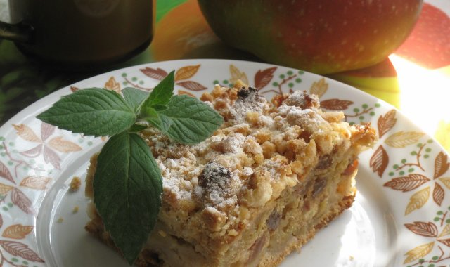 Nowy pomysł na ciasto z jabłkami