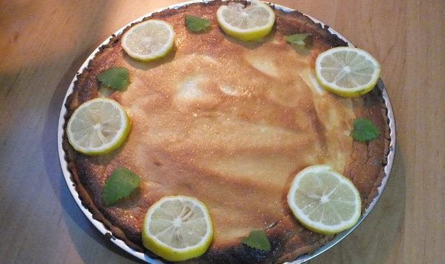 Lemon Pie, czyli tarta cytrynowa