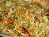 Kolorowa sałatka warzywna na zimę