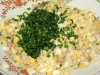 Pomidorowa sałatka z wędzoną makrelą